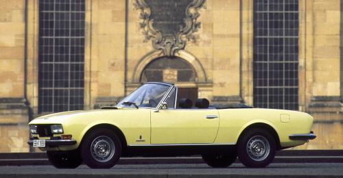 504cabrio 20030331 in Mit stilvollen Klassikern nach St. Petersburg