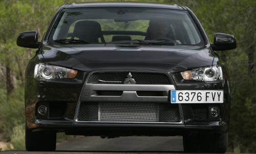 27026 in Mitsubishi Lancer Evolution: Wo bitte geht's zur nächsten Kurve?