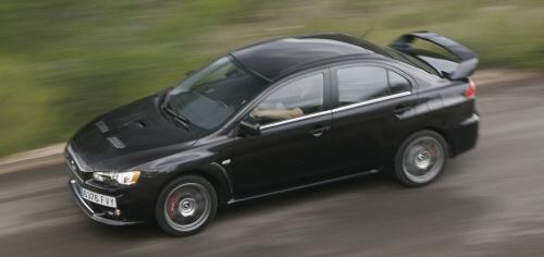 27027 in Mitsubishi Lancer Evolution: Wo bitte geht's zur nächsten Kurve?