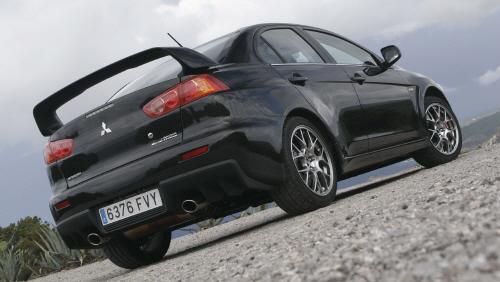 27028 in Mitsubishi Lancer Evolution: Wo bitte geht's zur nächsten Kurve?