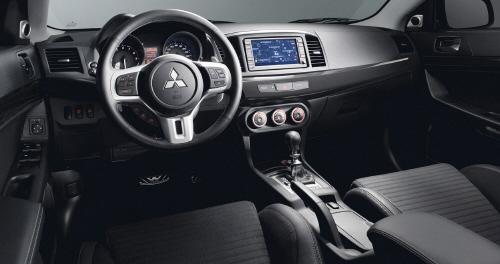 27035 in Mitsubishi Lancer Evolution: Wo bitte geht's zur nächsten Kurve?