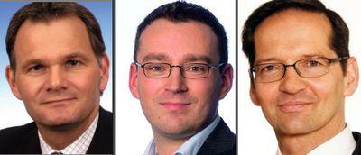 Brendel-beltz-ernst in VW-Kommunikation: Neue Aufgaben für Michael Brendel, Enrico Beltz und Stefan Ernst