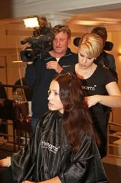 Hairdreams-TV-Dreh-177x267 in Hairdreams: Haarverlängerungs- und Haarverdichtungsprofis mit starkem Markenauftritt bei 25 Jahre Ammer Partys