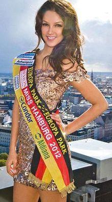 Viviana-Beltran-Velez in Samstag: Miss & Mister Hamburg 2013 werden gekürt