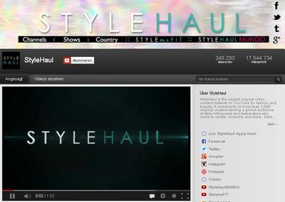 Stylehaul in Mode- und Beauty-Video-Network StyleHaul holt Bertelsmann an Bord