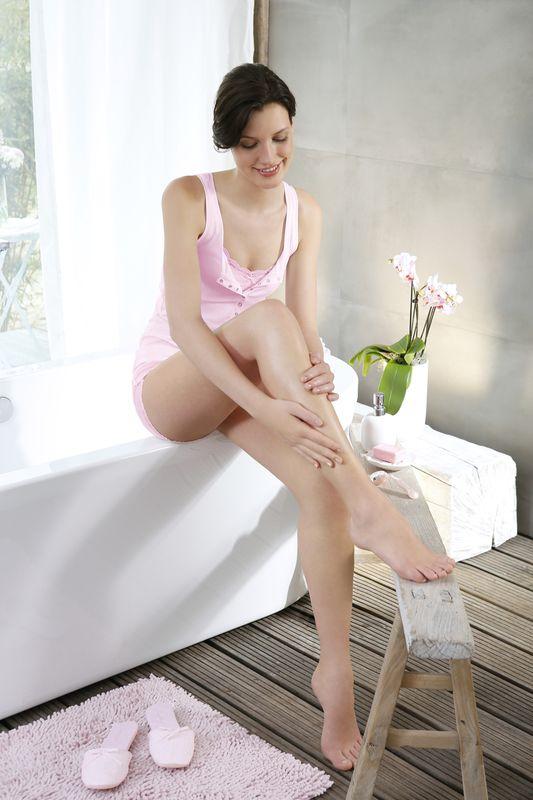 Luise-Will-Topmodel in Topmodel Luise Will für Gillette Venus