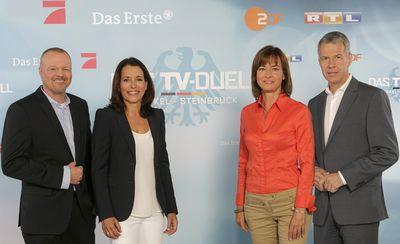 Raab-will-illner-kloeppel in 90-minütiger Schlagabtausch: Das TV-Duell