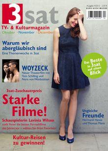 3sat-magazin in Das neue 3sat TV- & Kulturmagazin ist da