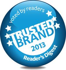Trusted-brand-2013 in Pegasus Awards: Marken mit Service, Qualität und Transparenz
