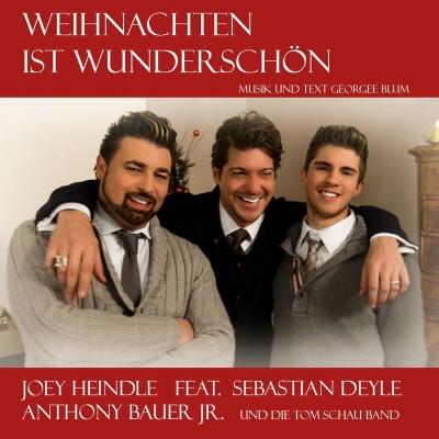 Weihnachten-Joey-Heindle-Sebastian-Deyle-Anthony-Bauer-400x400 in Weihnachtstrio verzaubert TV Zuschauer