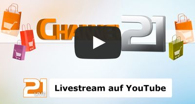 Channel21-youtube in TV Sender ist 24 Stunden am Tag live auf YouTube