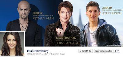 Miss-hamburg in Kurz vermeldet: Jury und prominente Gäste der Miss & Mister Hamburg Wahl 2014